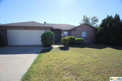 Killeen Single Family Home For Sale: 1808 Cedarview Drive