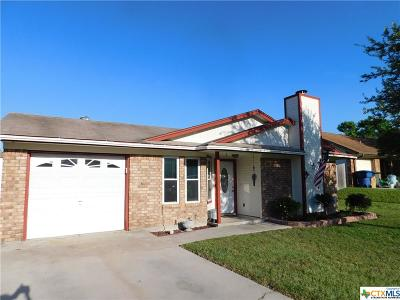 Copperas Cove Single Family Home For Sale: 232 Spur Drive