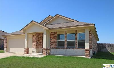 Killeen Single Family Home For Sale: 601 W Vega Lane