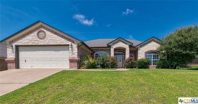Killeen Single Family Home For Sale: 4903 Cinnabar Way