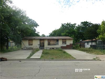 Killeen Single Family Home For Sale: 819 Evergreen Drive