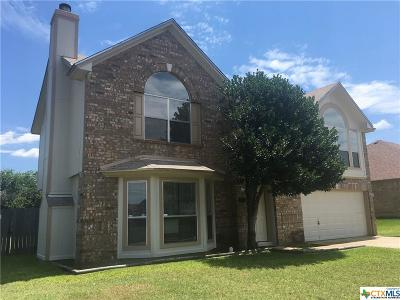 Killeen Single Family Home For Sale: 4908 Parkwood Drive