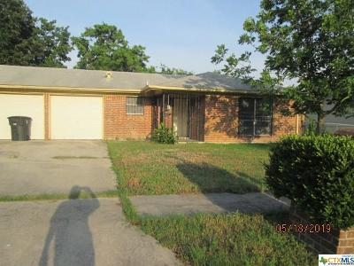 Killeen Single Family Home For Sale: 1400 Hammond Drive