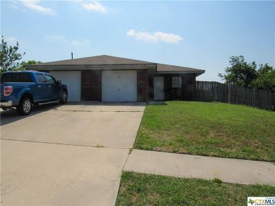 Killeen Single Family Home For Sale: 5218 Daybreak Drive