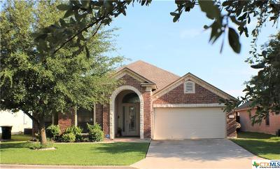 Killeen Single Family Home For Sale: 3008 Tucson Drive