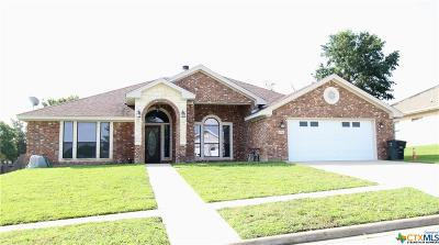 Killeen Single Family Home For Sale: 4906 Cinnamon Stone Drive