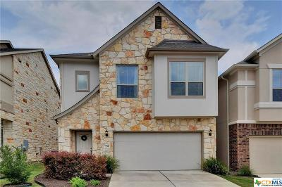 Round Rock Condo/Townhouse For Sale: 2105 Town Centre Drive #24