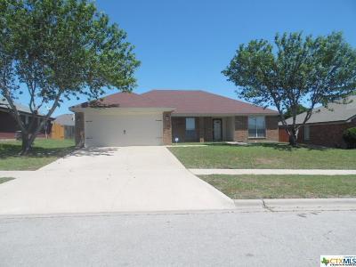 Killeen Single Family Home For Sale: 4501 Telluride Drive