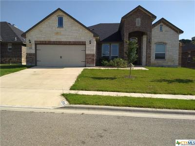 Killeen Single Family Home For Sale: 2708 John Helen Drive