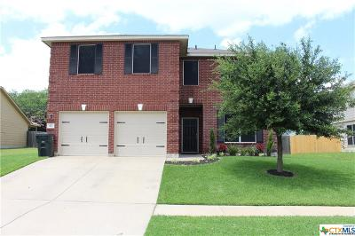 Killeen Single Family Home For Sale: 411 E Little Dipper