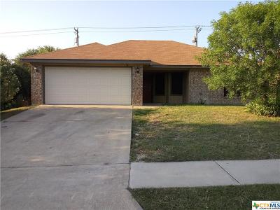 Killeen Single Family Home For Sale: 2709 Fieldstone Drive