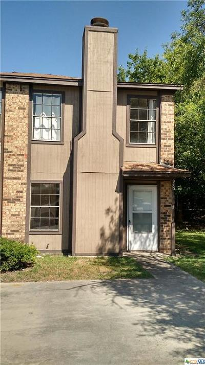 Copperas Cove Condo/Townhouse For Sale: 920 N 7th Street