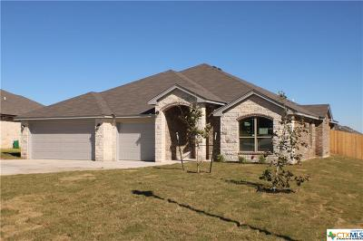 Copperas Cove Single Family Home For Sale: 1105 Liberty Lane