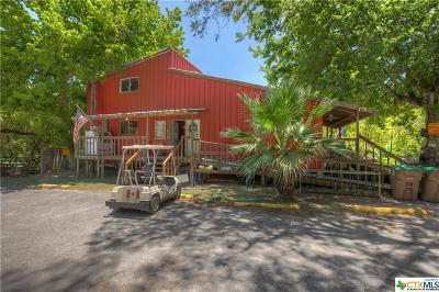 New Braunfels Single Family Home For Sale: 7308 And 7296 River Road
