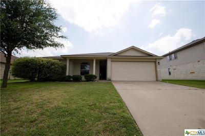 Killeen Single Family Home For Sale: 6711 Aquamarine Drive