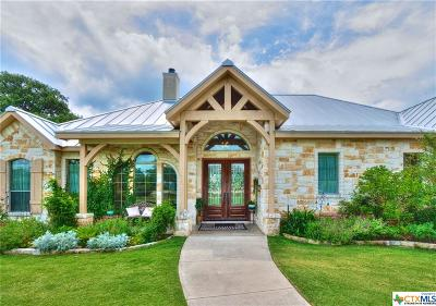 New Braunfels Single Family Home For Sale: 1247 Acquedotto