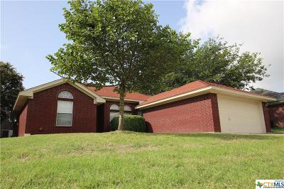 Killeen Single Family Home For Sale: 3610 Crosscut Loop
