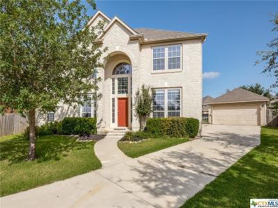 Seguin Single Family Home For Sale: 2176 Autumn Vista
