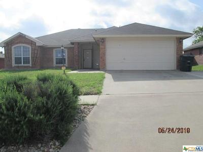 Killeen Single Family Home For Sale: 3704 Foxglove Lane