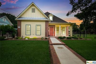 New Braunfels Single Family Home For Sale: 746 W Mill Street