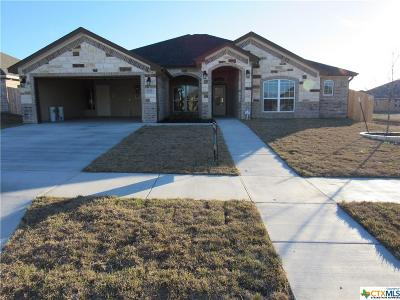 Killeen Single Family Home For Sale: 6104 Cactus Flower Lane