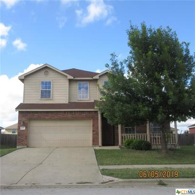 Killeen Single Family Home For Sale: 409 Constellation Drive #D