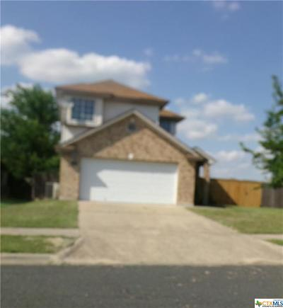 Killeen Single Family Home For Sale: 2313 Garrett Drive