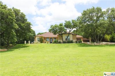 Belton Single Family Home For Sale: 217 Messer Ranch Road