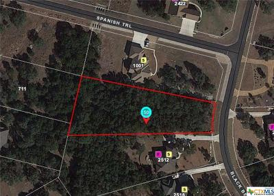 New Braunfels Residential Lots & Land For Sale: 2508 Black Bear Drive