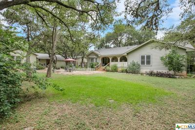New Braunfels Single Family Home For Sale: 218 Kentucky Boulevard