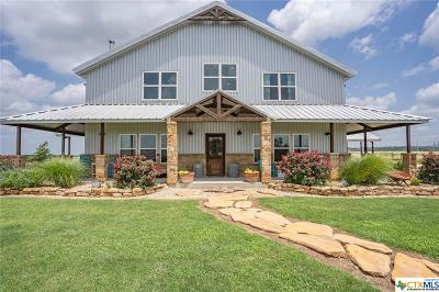 Bosque County, Bell County, Burnet County, Calhoun County, Coryell County, Lampasas County, Limestone County, Llano County, McLennan County, Mills County, Milam County, San Saba County, Williamson County, Hamilton County, Travis County, Comal County, Comanche County, Kendall County Single Family Home For Sale: 524 County Rd 109