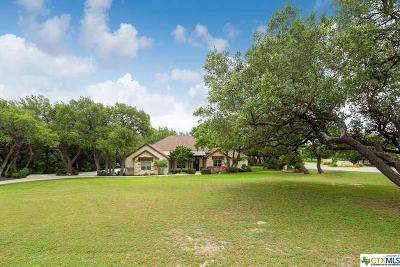 Canyon Lake Single Family Home For Sale: 3561 Comal Springs
