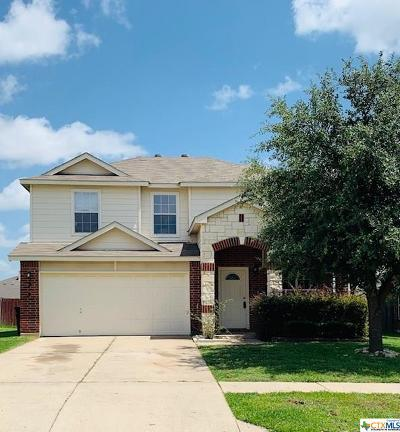 Killeen Single Family Home For Sale: 2309 Riley Drive