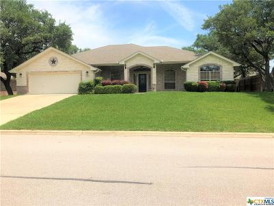 Harker Heights Single Family Home For Sale: 313 Prospector Trail