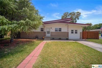 Copperas Cove Single Family Home For Sale: 1005 Cove Avenue
