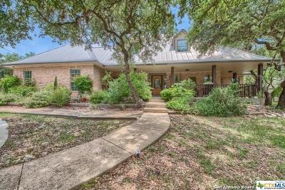 Bulverde Single Family Home For Sale: 2449 Mojado Pass