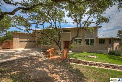 Canyon Lake TX Single Family Home For Sale: $495,000