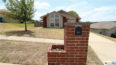 Copperas Cove Single Family Home For Sale: 1311 Dekort Circle