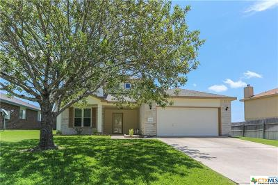 Harker Heights Single Family Home For Sale: 3020 Rain Dance Loop