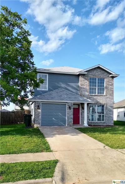 Killeen Single Family Home For Sale: 2307 Garrett Drive