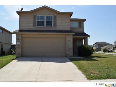 Killeen Single Family Home For Sale: 5201 Lyra Drive