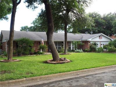 Temple Single Family Home For Sale: 3609 Las Cienega