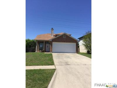 Killeen Single Family Home For Sale: 1505 Quarry Drive