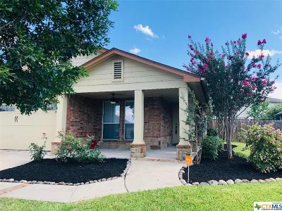 Killeen TX Single Family Home For Sale: $139,500