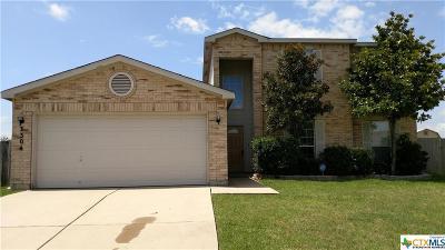 Killeen Single Family Home For Sale: 3304 Bull Run Drive