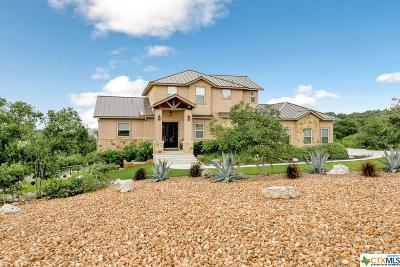 New Braunfels Single Family Home For Sale: 5821 Copper Valley Valley
