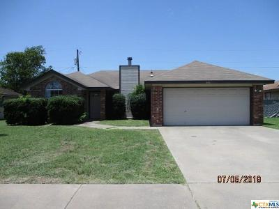 Killeen Single Family Home For Sale: 2611 Hidden Hill Drive