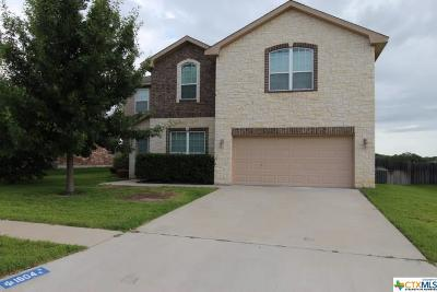 Harker Heights  Single Family Home For Sale: 1604 Walker Place Boulevard
