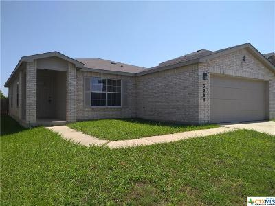 Killeen Single Family Home For Sale: 3205 John Porter Drive