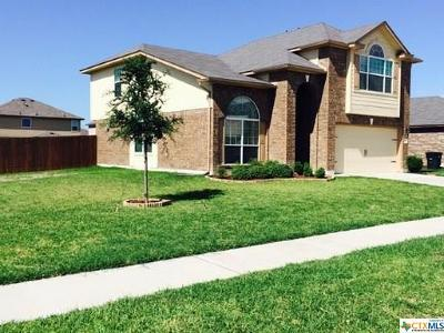 Killeen Single Family Home For Sale: 5007 Bayer Hollow Drive